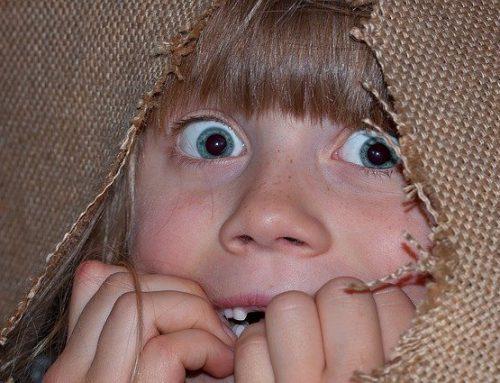 """""""Help er zit een monster onder mijn bed!"""""""